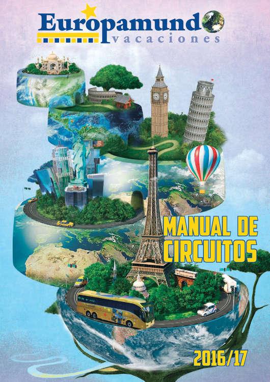 Ofertas de Europamundo, Manual de Circuitos
