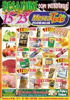 Ofertas de MercaTodo, Desayune con nosotros! - Floralia