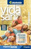 Ofertas de Droguería Colsubsidio, Revista Vida Sana ed 119 - Prevenir, cuidar y estar saudable