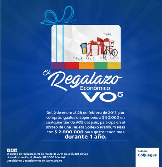 Ofertas de VO5, El regalazo económico VO5