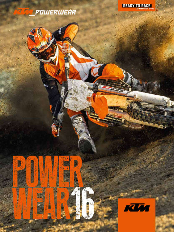 Ofertas de KTM, KTM POWER WEAR