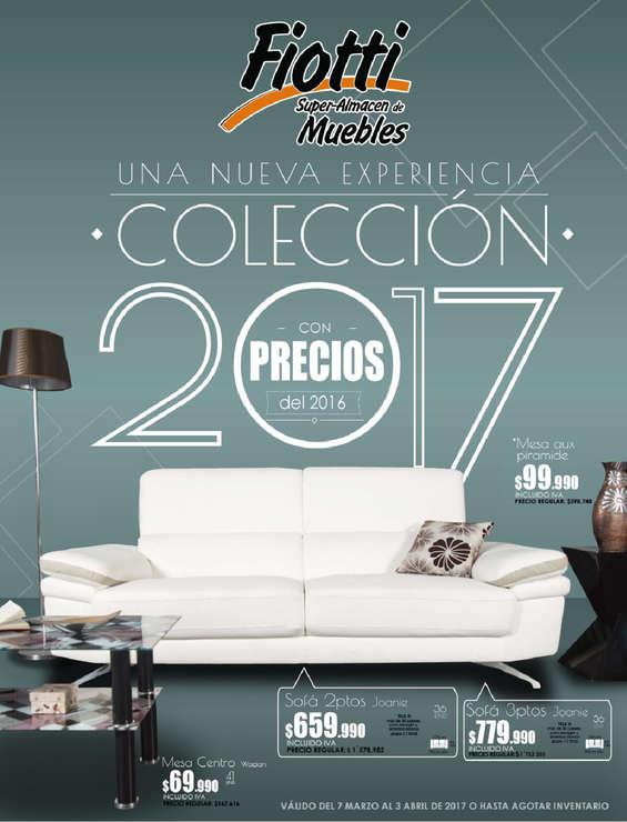 Ofertas de Fiotti Super Almacén de Muebles, Nueva Colección 2017