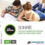 Ofertas de HomeCenter, Catálogo CRM Puntos Homecenter