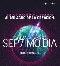 Soda Stereo - Séptimo Día - Puntos Credencial