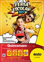 Ofertas de Éxito, Feria escolar 2017 - Quincenazo