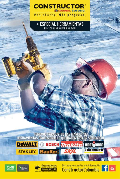 Ofertas de Constructor, Especial Herramientas