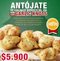 Lo Nuevo - Garlic Knots