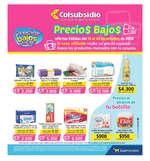 Ofertas de Supermercados Colsubsidio, Catálogo Supermercados Colsubsidio - Precios Bajos