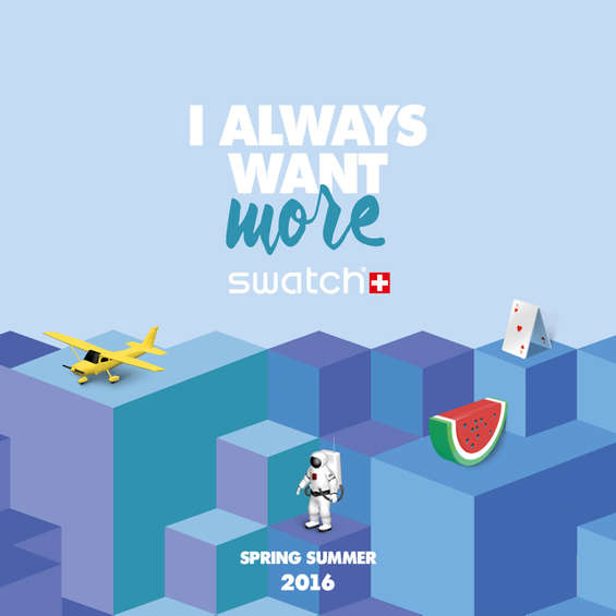 Ofertas de Swatch, Spring Summer - I Always Want More