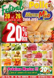Festival del pollo en MercaMío - Ciudad Jardín