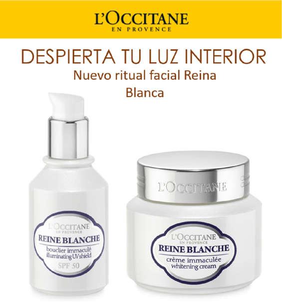 Ofertas de L'occitane, Nuevo ritual facial - Reina Blanca