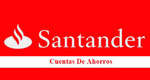 Ofertas de Banco Santander, Cuentas de ahorro