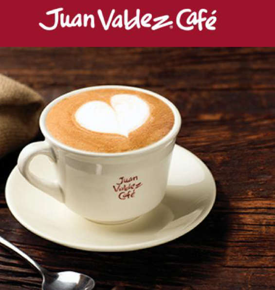 Ofertas de Juan Valdez, Bebidas Calientes