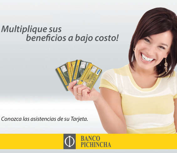 Ofertas de Banco Pichincha, Multuiplique sus beneficios a bajo costo
