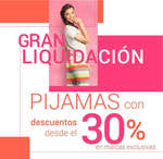 Ofertas de Tania, Gran liquidación de pijamas