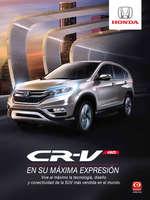 Ofertas de Honda Autos, Honda CR-V