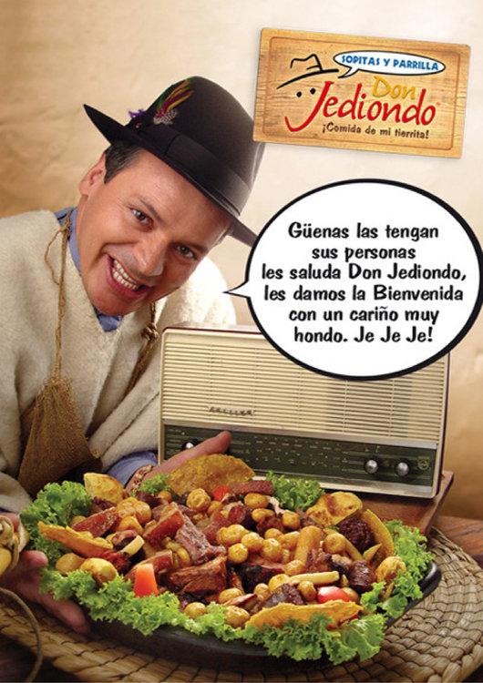 Ofertas de Don Jediondo, Carta