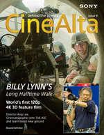 Ofertas de Sony, Revista Cine Alta Ed. 9