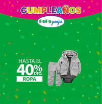 Cumpleaños Pepe Ganga - 40% de descuento en Ropa