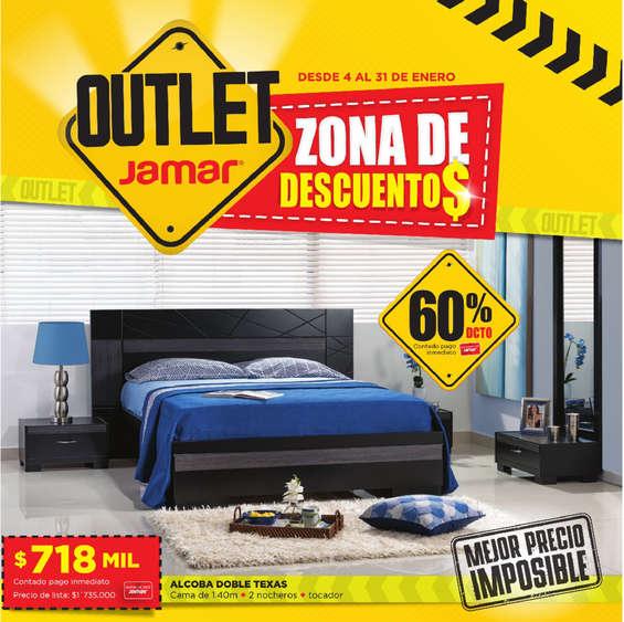 Ofertas de Muebles Jamar, Zona de descuentos - Cartagena y Santa Marta
