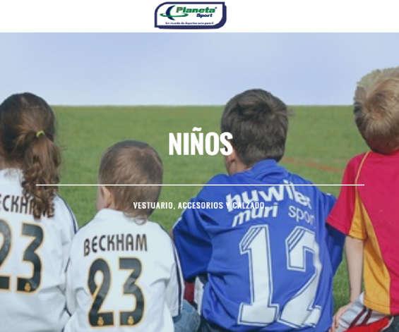 Ofertas de Planeta Sport, Niños