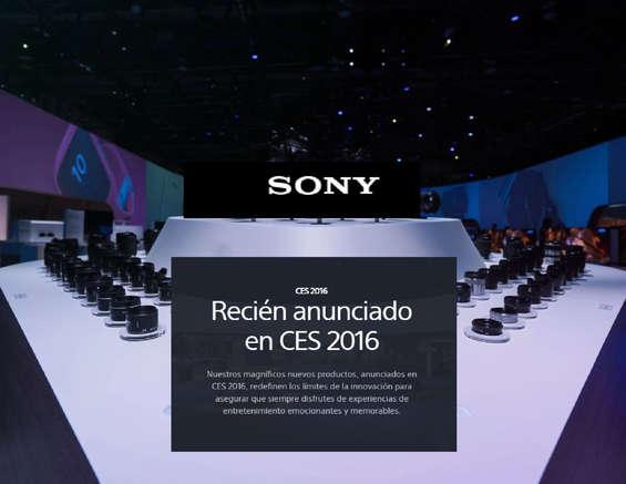 Ofertas de Sony, Nuevos Productos Sony