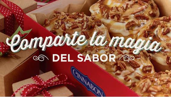 Ofertas de Cinnabon, Navidad Cinnabon