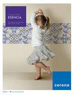 Ofertas de Corona Centro de Inspiración, Catálogo Esencia 2016