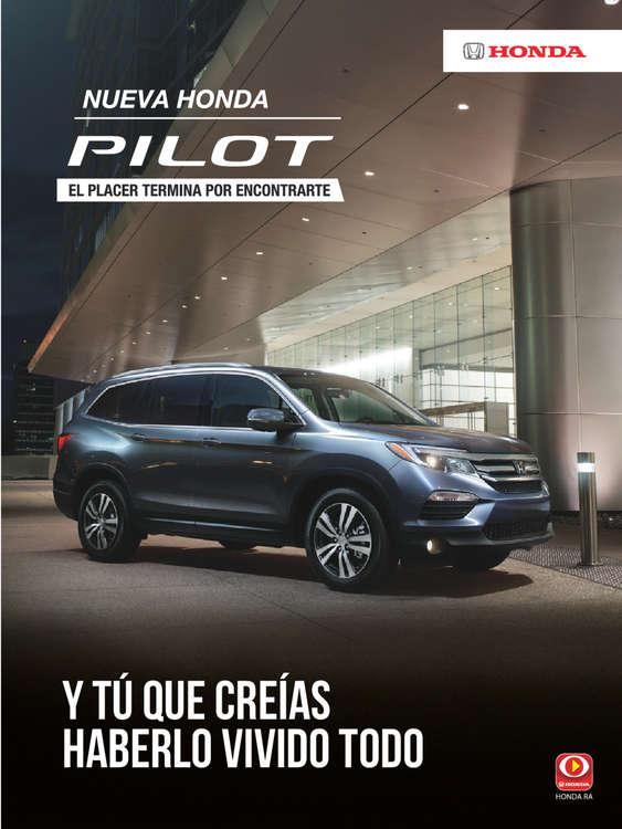 Ofertas de Honda Autos, Honda Pilot