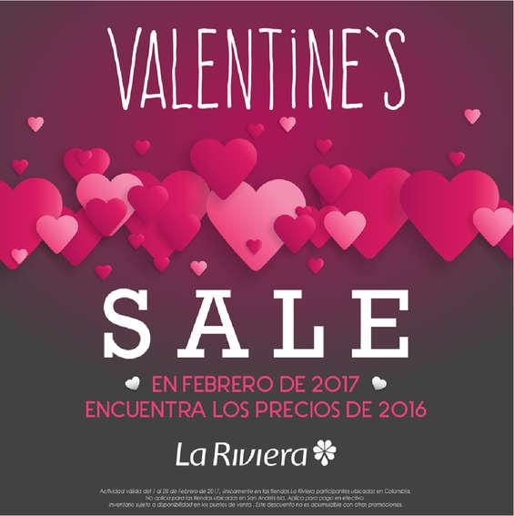 Ofertas de La Riviera, Valentine's Sale