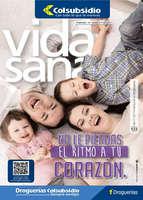 Ofertas de Droguería Colsubsidio, Revista Vida Sana Ed. 122 - No le pierdas el ritmo a tu corazón