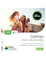 Ofertas de Banco Falabella, Catálogo de Puntos - enero - octubre