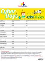 Ofertas de Viva Colombia, Cyber Days