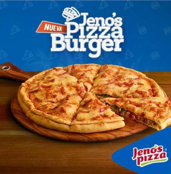 Ofertas de Jeno's Pizza, Jeno´s Pizza Burger