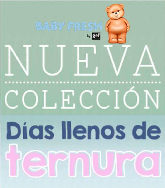 Ofertas de Baby Fresh, Nueva colección - Días llenos de ternura