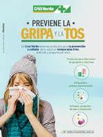 Ofertas de Cruz Verde, Previene la gripa y la tos