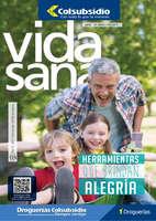 Ofertas de Droguería Colsubsidio, Revista Vida Sana Ed. 124 - Herramientas que brindan alegría
