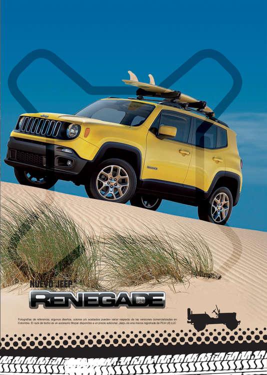 Ofertas de Jeep, Nuevo Jeep Renegade
