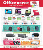 Ofertas de Office Depot, Folleto Enero