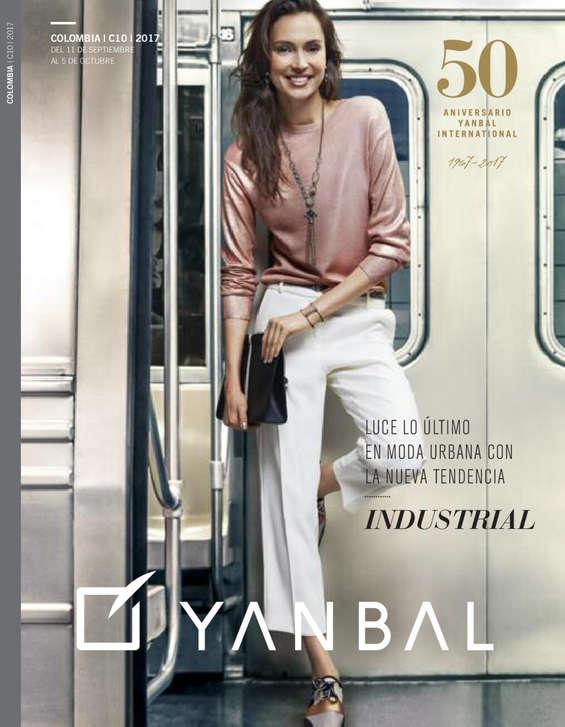 Ofertas de Yanbal, Luce lo último en moda urbana con la nueva tendencia Industrial - Campaña 10 de 2017