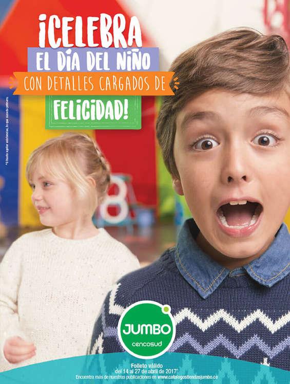 Ofertas de Jumbo, ¡Celebra el día del niño con detalles cargados de felicidad!