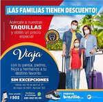 Ofertas de Expresos Brasilia, Familias con descuento