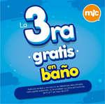 Ofertas de Mic Kids, La 3ra gratis en baño