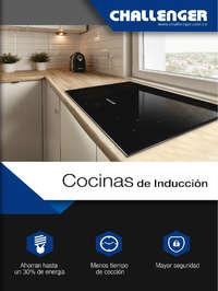 Catálogo Cocinas de Inducción
