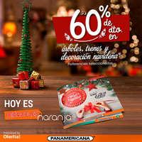 60% de dto. en árboles, trenes y decoración navideña