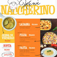 Menú Naccherino