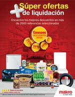 Ofertas de Makro, Liquidación