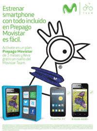 Estrena Smartphone en prepago Movistar