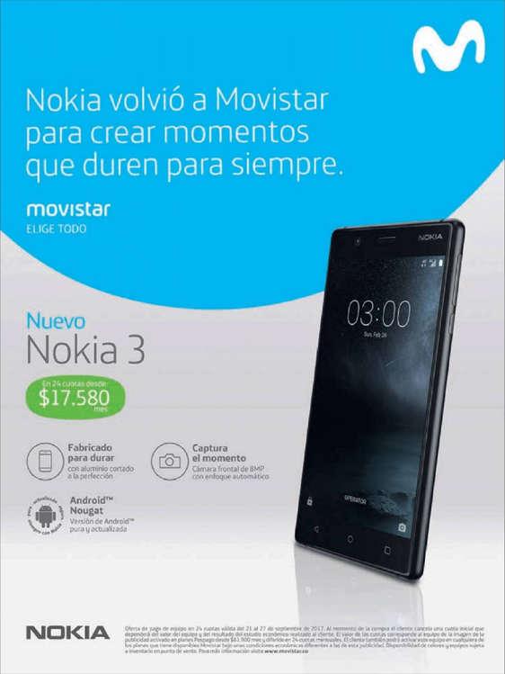 Ofertas de Movistar, Nokia volvió a Movistar para crear momentos que duren para siempre