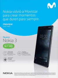 Nokia volvió a Movistar para crear momentos que duren para siempre
